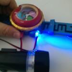 「DX妖怪ウォッチ タイプ零式」の電池まわりをエコ改造(?)してみました