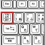 日本語入力のオンとオフの切り替え(IME ON/OFF)